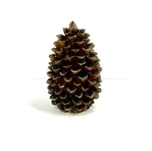 Pottery Barn Pinecone Candle